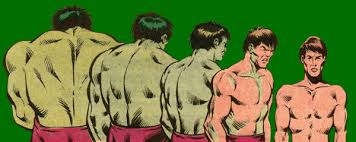 Image result for hulk turning into bruce banner