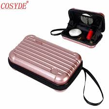 2020 <b>New</b> Waterproof ABS Makeup Bags Hard Portable Cosmetic ...