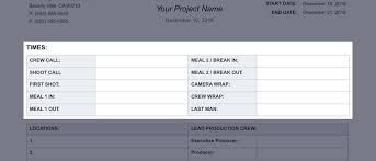 the daily production report explained template daily production report template 02 studiobinder