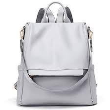 Womens Backpacks Purse Fashion Leather Anti-theft ... - Amazon.com