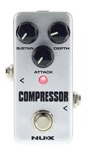 <b>NUX</b> FCP2 <b>Compressor</b> Mini <b>Pedal</b>   Stompbox.in