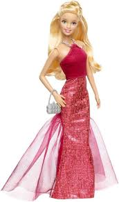 barbie signature style barbie doll with red halter gown barbie doll