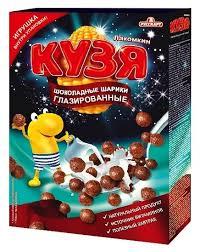 Купить Готовый завтрак КУЗЯ ЛАКОМКИН <b>Шоколадные шарики</b> ...