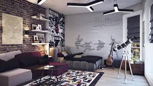 cool bedroom furniture for teenagers modern teenage room decoration with cozy grey bed and sofa bedroom furniture for tweens