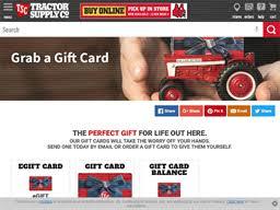 Tractor Supply Company | Gift Card Balance Check | Balance ...
