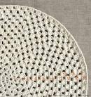 Видео вязания крючком круглого коврика для начинающих
