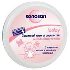 Детский <b>крем</b> SANOSAN от <b>опрелостей</b> (под подгузник) | Отзывы ...
