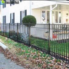 Garden & Patio Garden 6m Ornamental <b>Security Palisade Fence</b> ...