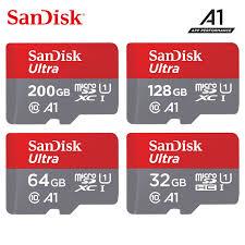 <b>Original Sandisk</b> micro <b>sd card</b> 16gb 32gb 64gb 200gb cartao de ...