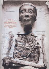 the death of tutankhamun accident disease or murder ancient original photo 1926 of the king s mummy adapted from kmt magazine