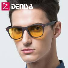 DENISA <b>Night Vision</b> Glasses <b>2019</b> Ultralight TR90 Square ...