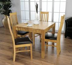 Square Dining Room Table Sets Dining Furniture Small Modern Dining Room Spaces With Wood Wall