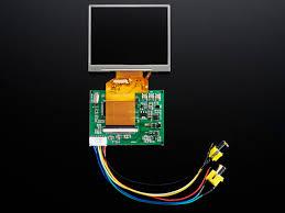 NTSC/PAL (Television) TFT Display - 3.5 Diagonal ID: 913 - $44.95 ...