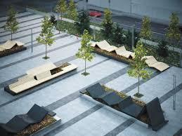 Городская <b>уличная</b> мебель - модульные подиумы | Megapolis