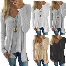 Women Sweater Casual Loose Batwing Sleeve Hollow Out Knit ...