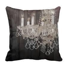 vintage paris chandelier barnwood throw pillow chandelier barn board