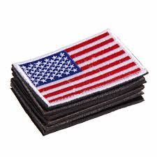 High Grade <b>Embroidered</b> thread <b>American Flag Embroidered Patch</b> ...