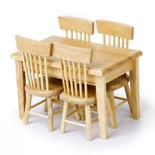 wooden child table chair set dining