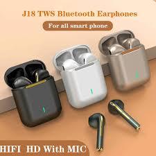 <b>Original New J18</b> Tws Bluetooth Earphones Touch Pop-up True ...