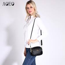 <b>Aoeo Crossbody Bags For</b> Women Genuine Leather 100% Real ...