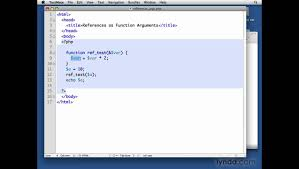 mysql php using references as function arguments lynda com mysql php using references as function arguments lynda com