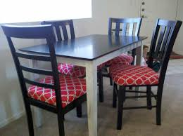 Padding For Dining Room Chairs Kitchen Chairs With Cushions Chair Kitchen Dining Tables Com