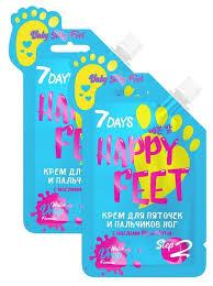 Купить 7DAYS happy feet <b>Крем для пяточек и</b> пальчиков ног Baby ...