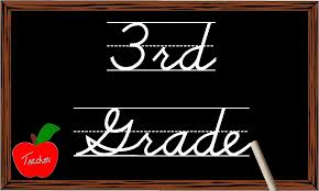 Image result for third grade sign