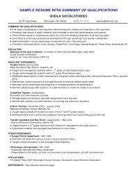 example of a summary of qualifications resume template example resume summary qualifications s resume example