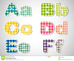 six letters in alphabetical order royalty stock image image six letters in alphabetical order
