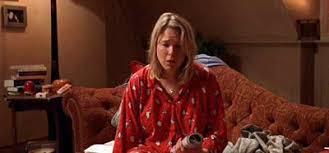 Image result for bridget jones in pyjamas
