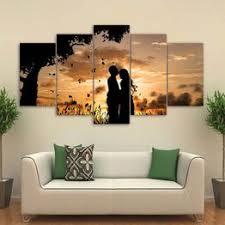 Home Decor 5 Pieces Under The Tree Couple Sunset ... - Vova