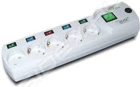 <b>Сетевой фильтр Most ERG</b> 2м (5 розеток) (белый) - купить ...