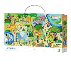 <b>DoDo Пазл на</b> внимательность 300259 Зоопарк | игрушки по ...