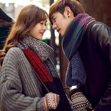 <b>YJSFG HOUSE New Women</b> Men Scarf Winter Knitting Wool Long ...