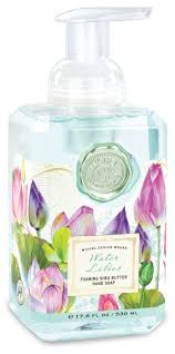 Water <b>Lilies</b> Foaming Soap Hand Wash by <b>Michel Design Works</b>