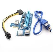 <b>006c</b> USB 3,0 PCI-E 1X к 10X расширитель <b>адаптер Riser Card</b> с ...