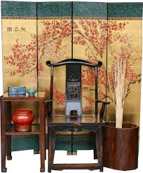 chinese style decor:  asian style furniture