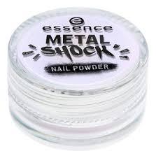 <b>Пудра</b>-<b>втирка для ногтей Metal</b> Shock Nail Powder 1г essence ...
