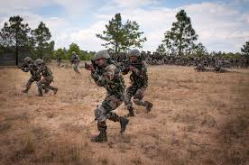 u s  department of defense  photo essay     indian  iers execute an ambush for u s  paratroopers during yudh abhyas on fort bragg