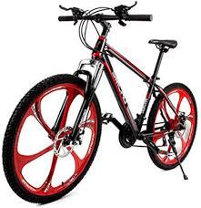 <b>SMLRO</b> 26 X 17inch <b>Mountain</b> Bike 21 Speed High Carbon Steel ...