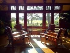 fascinating craftsman living room chairs furniture: stickley furniture in the lodge at torrey pines craftsman living