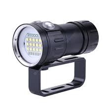 ZHISHUNJIA ZSJ-QH27 <b>18000LM</b> IPX8 Diving Lamp <b>LED Flashlight</b> ...