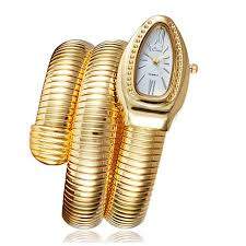 2018 <b>CUSSI</b> Gold <b>Luxury</b> Women'S Serpentine Bracelet Fashion ...