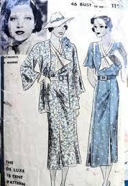 RARE 1930s BETTE <b>DAVIS</b> Slim <b>Dress</b> Pattern HOLLYWOOD 1476 ...