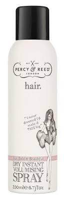 Percy & Reed <b>Спрей сухой</b> для <b>объема</b> Dry Instant Volumising <b>Spray</b>
