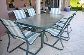 patio table and 6 chairs: attached images attachment attached images