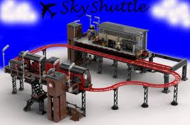 Lego <b>Technic</b> and Volvo Construction Equipment futuristic ...