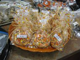 heidi s recipes bake recipes these pumpkin sugar cookies were baked on a stick adorned fall sprinkles and then packaged in cellophane bags that were tied raffia cute sells