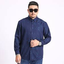 2020 New <b>Large Size</b> Shirt <b>Men's Business</b> Casual Loose Straight ...